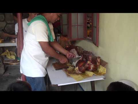 Whole Roasted Pig (Lechon) at the Casa