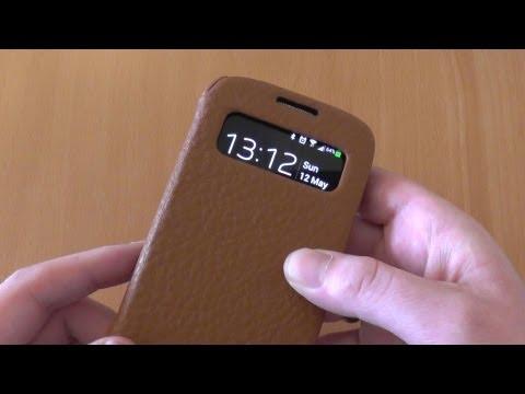 JisonCase Samsung Galaxy S4 Case Review - Executive S-View Folio