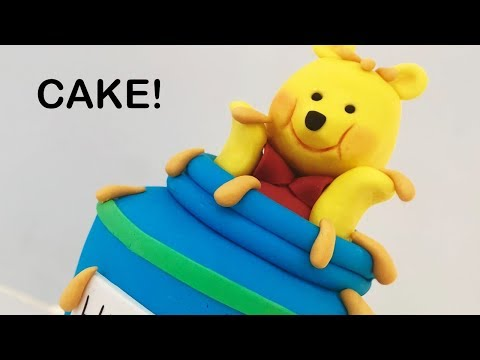 Adorable Winnie The Pooh CAKE!