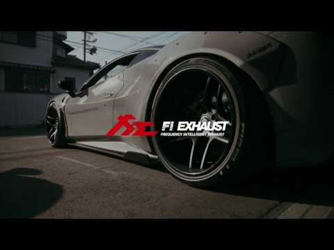 Xxx Mp4 Worldwide 1st Ferrari 488 GTB X Fi Exhaust Insane Sound Liberty Walk Widebody 3gp Sex