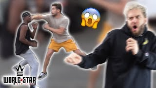 STREET FIGHT CAUGHT ON TAPE! *KNOCKOUT*