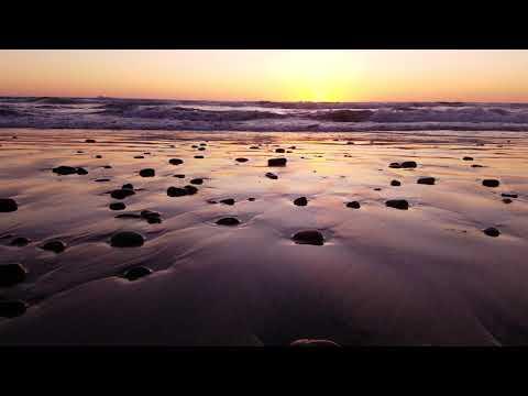 Sleep well everyone, sunset, Pacific Ocean