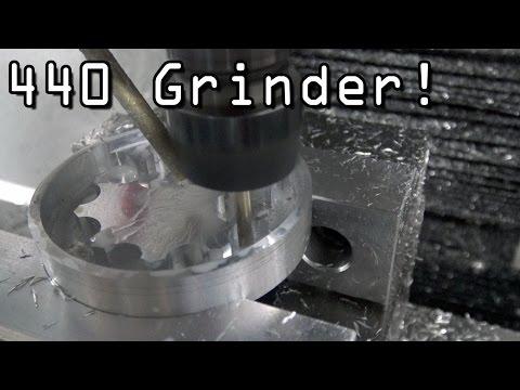 Machining a Small Aluminum Part on Tormach 440!  Widget97