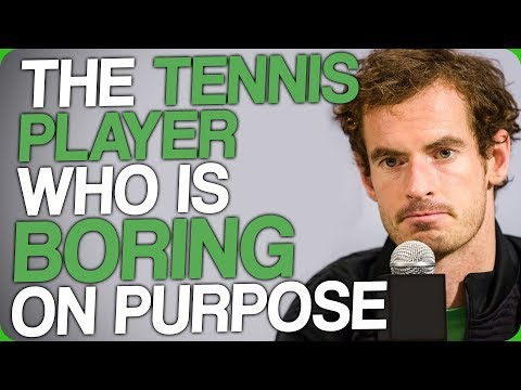 The Tennis Player Who Is Boring on Purpose