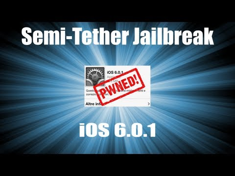 Semi-Untethered Jailbreak iOS 6.0.1 Redsn0w [iPhone 3Gs,4,iPod Touch 4G]