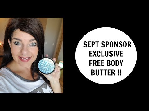 Perfectly Posh -FREE BEACH BLANKET BODY BUTTER-Sponsor Exclusive September 2017