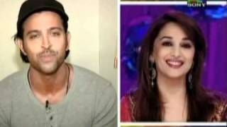It is a mystery when Madhuri Dixit Dances --Hrithik
