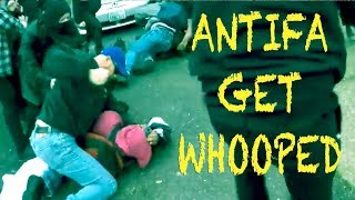 Proud Boys hand ANTIFA an ASS WHOOPIN!!!