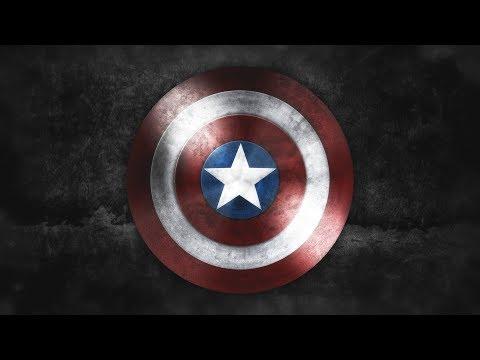 Captain America Shield Design | Speed Art | Photoshop