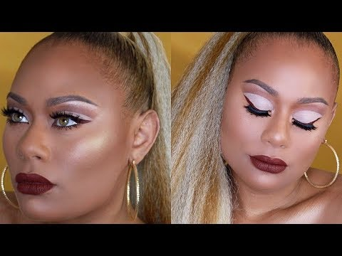 Easy Cut Crease & Maybelline 24K Nudes palette
