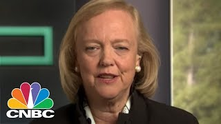 HPE CEO Meg Whitman On Leading HPE Through One Of The Biggest Breakups In Corporate History   CNBC
