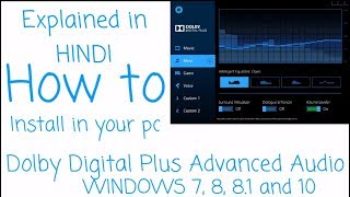 How to install Dolby Home Theater v4 in Windows PC [Hindi