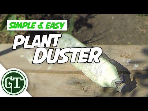 Easy Build Plant Duster for Applying Sulphur Powder   Organic Gardening Pest Control