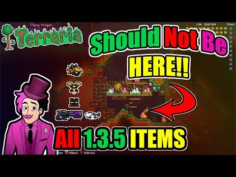 Terraria - 1.3.5.3 ALL ITEMS For Xbox One + DOWNLOAD LINK!!!