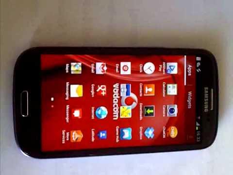 Samsung Galaxy S3 Multiple e-mail accounts SA