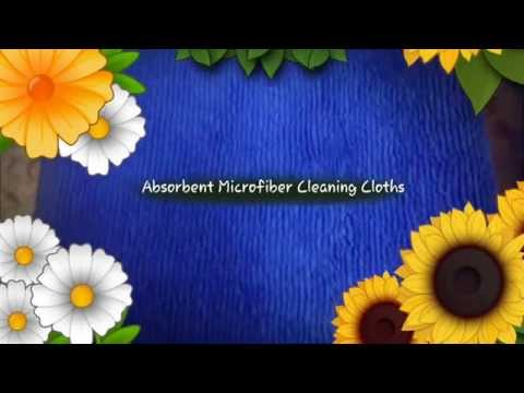 TowelLab: Absorbent Microfiber Cleaning Cloths for Cleaning
