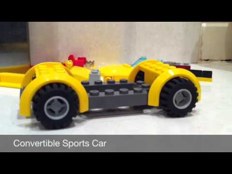 How to build a Lego rally car and a Lego sports car