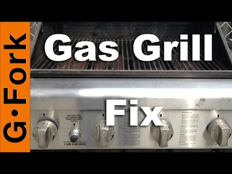 Gas Grill Repair - Grill wont light or stay lit - GardenFork