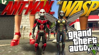 Gta 5 Mods  Marvels Antman And The Wasp Mod Gta 5 Mods Gameplay