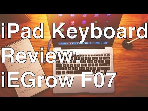 iPad Keyboard Review: iEGrow F07