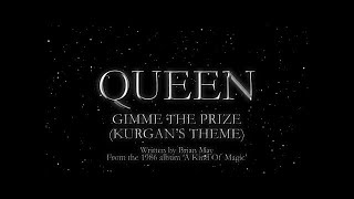Queen - Gimme The Prize [Kurgan's Theme] (Official Lyric Video)