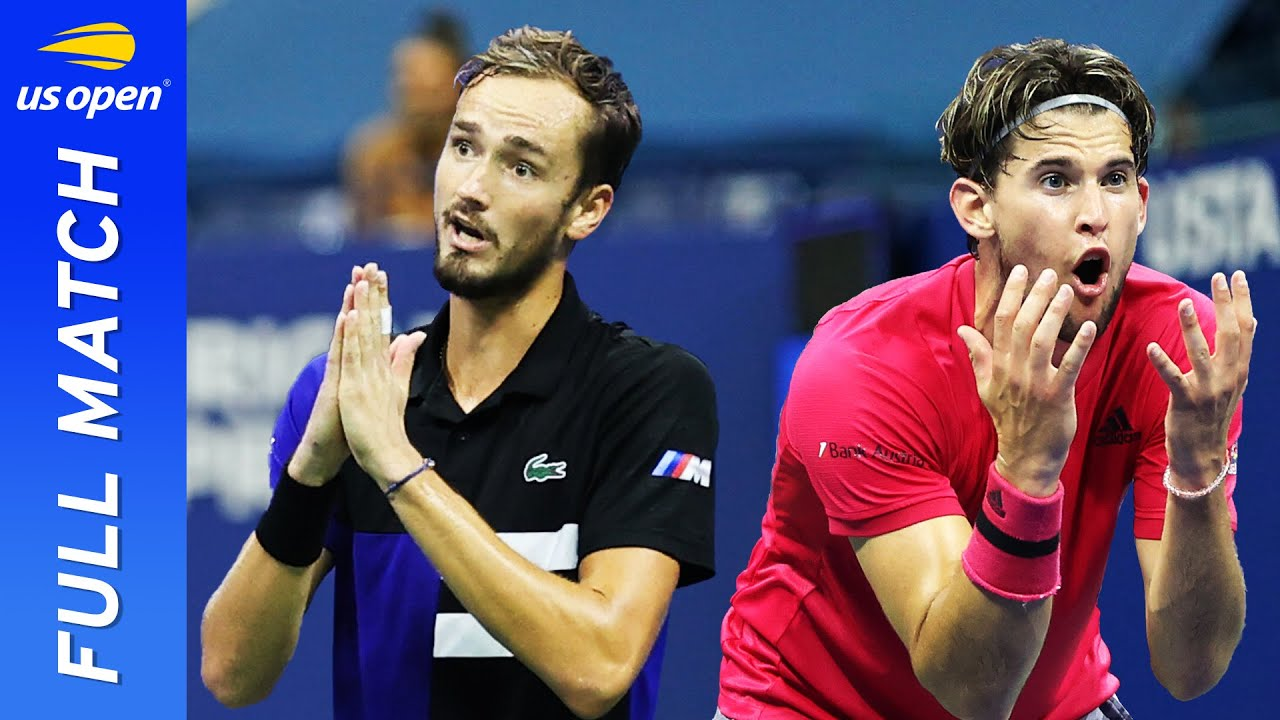 Daniil Medvedev vs Dominic Thiem Full Match   US Open 2020 Semifinal