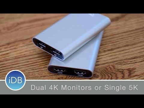 OWC Aluminum Dual HDMI or DisplayPort Thunderbolt 3 Adapters
