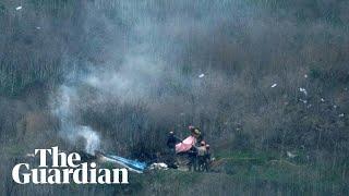 Nine dead in Kobe Bryant helicopter crash in Calabasas
