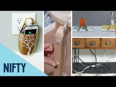 4 Ways to Organize Unsightly Wires Around the House