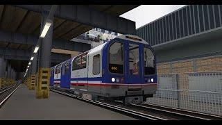 OpenBVE - London Underground Central Line - Fast Motion