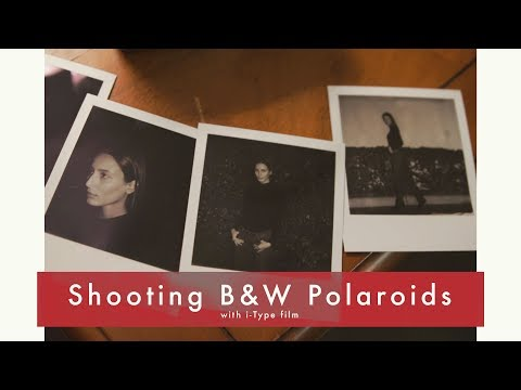 Shooting B&W Polaroids with the OneStep 2