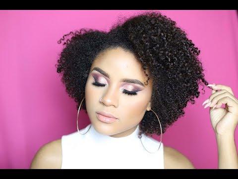 Valentine's Day Inspired Makeup Tutorial | CURLSFOTHEGIRLS