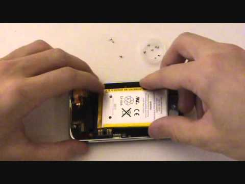 iPhone 3GS Battery Replacement 3G Tutorial Instructions | GadgetMenders.com