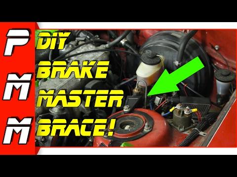 DIY Master Cylinder Brace