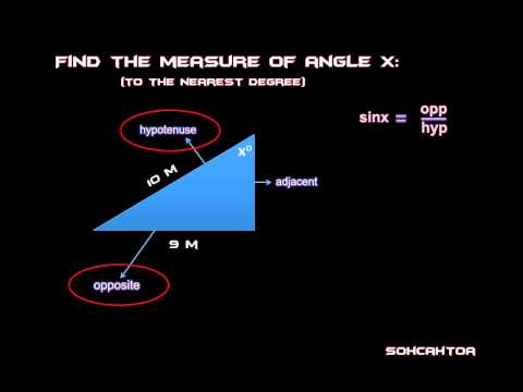 Trigonometry Finding Angles