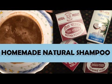 HOW TO MAKE HOMEMADE HERBAL SHAMPOO | 100% NATURAL | SMOOTH SILKY HAIR | DIY