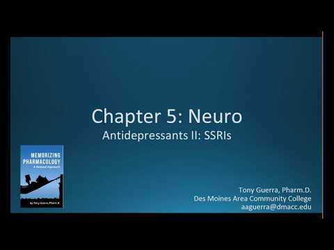 (CC) Antidepressants SSRIs Citalopram vs Sertraline (CH 5 NEURO NAPLEX / NCLEX PHARMACOLOGY REVIEW)