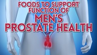 Foods to Support Function of Men