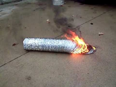 Dryer vent installation BAD IDEA