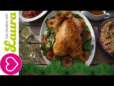 How to marinate a Turkey with white wine and Fruit Juice - Christmas Recipes