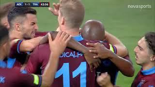 AEK - Τράμπζονσπορ: 1-3