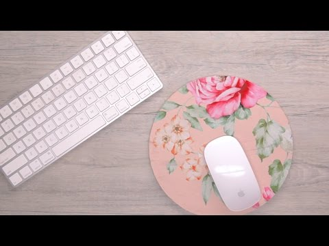 DIY Mouse Pad Project From Repurposed T-Shirt