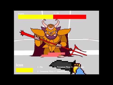 Download 3d Undertale Asgore fight (no hit) (undertale fan game)