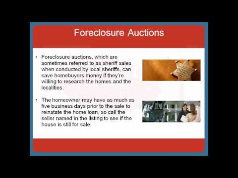 How to buy cheap houses through foreclosures