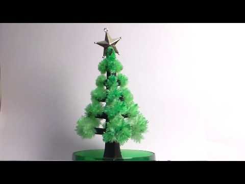Crystal Tree Time Lapse