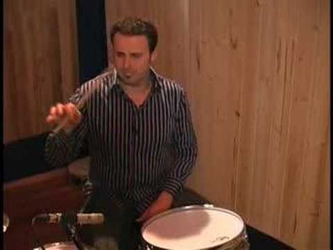 Holding The Drumsticks - Drum Lessons