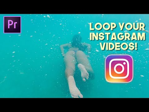 How to Loop Your Instagram Video Edits (Premiere Pro CC 2017)