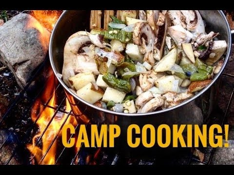 Green Chile/Potato Stew: Camp Cooking!