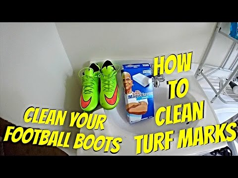 How To Clean Soccer Cleats | Clean Turf Marks Off Your Football Boots / Mercurial Vapor X