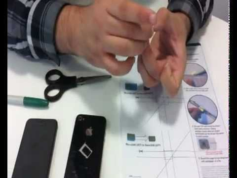 Micro SIM to iPhone 5 Nano SIM in five minutes